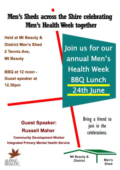 Men's Health Week MB Only 2017